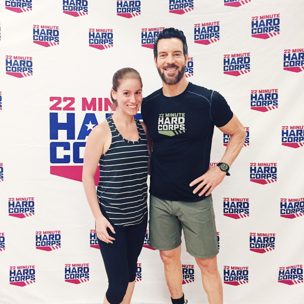 22 Minute Hard Corps Workout